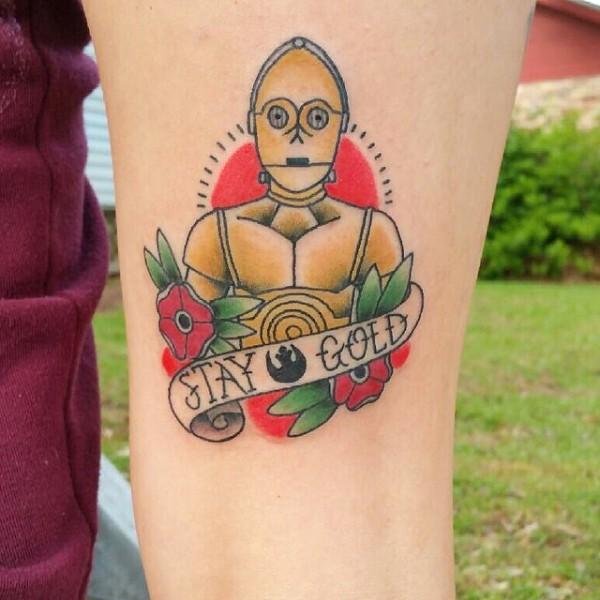 Tatuagens Star Wars day 02
