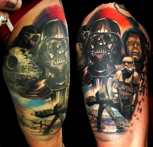 Tatuagens Star Wars day 13