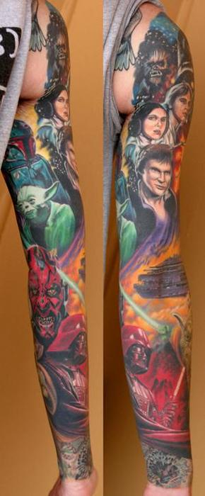 Tatuagens Star Wars day 15