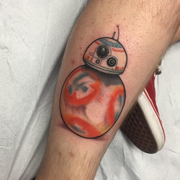 Tatuagens Star Wars day 16