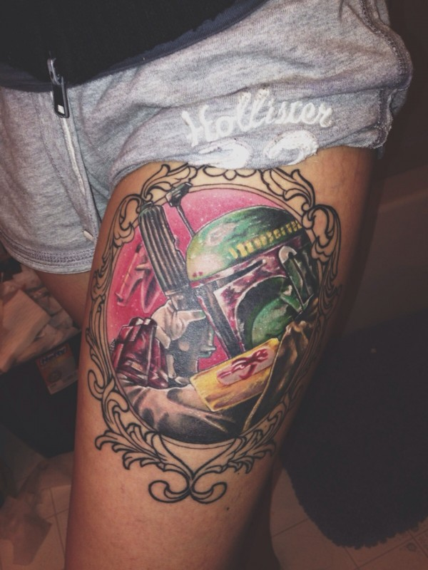Tatuagens Star Wars day 17