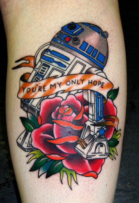 Tatuagens Star Wars day 18