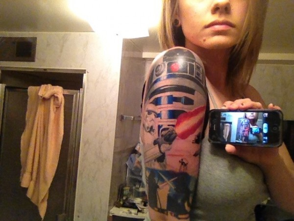 Tatuagens Star Wars day 19