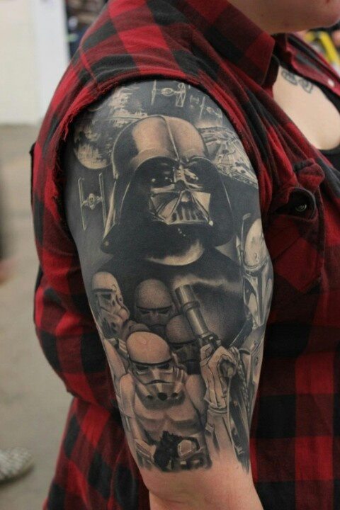 Tatuagens Star Wars day 20