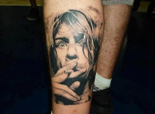 Tatuagens de Kurt Cobain 01