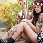 A mulher tatuada que você precisa ver hoje: Stephany Says