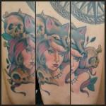 A arte de Dany Linhares, tatuadora de Campinas