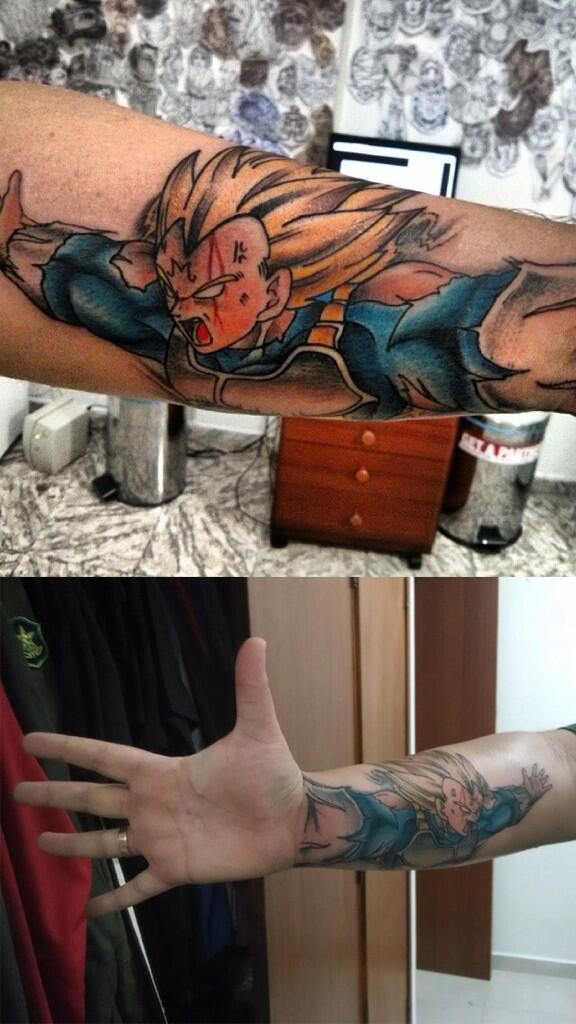 Tatuagem Criativa no Braço 02