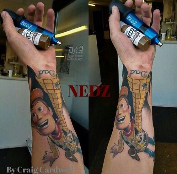 Tatuagem Criativa no Braço 05
