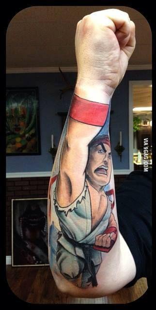Tatuagem Criativa no Braço 06