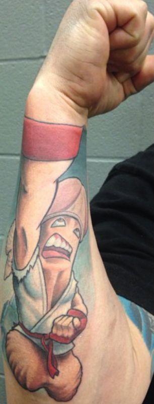Tatuagem Criativa no Braço 07
