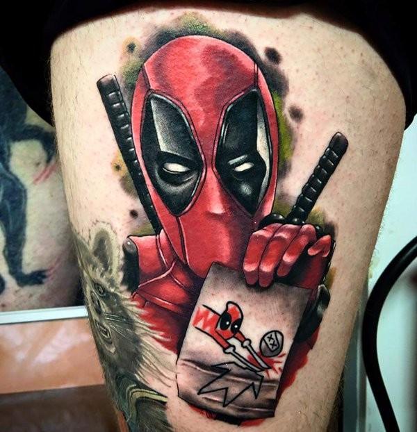 Tatuagens de Deadpool 01