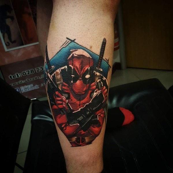 Tatuagens de Deadpool 02