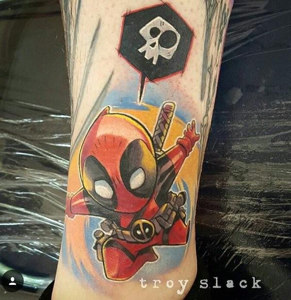 Tatuagens de Deadpool 03