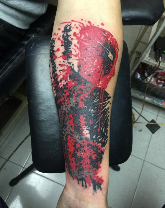 Tatuagens de Deadpool 05