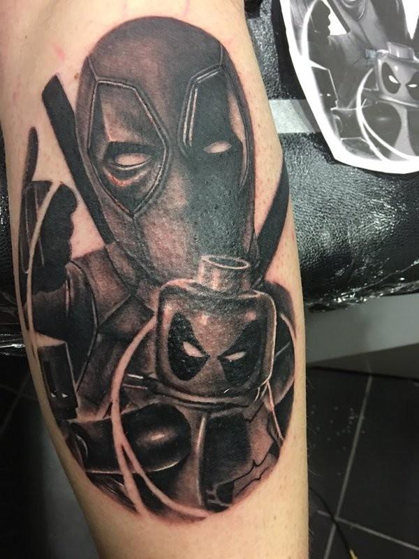 Tatuagens de Deadpool 07
