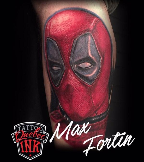 Tatuagens de Deadpool 10