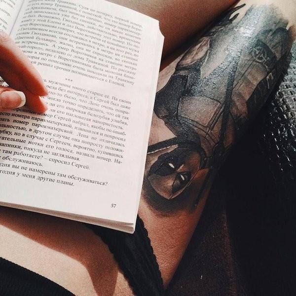 Tatuagens de Deadpool 11