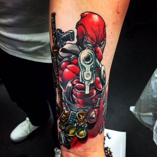 Tatuagens de Deadpool 15