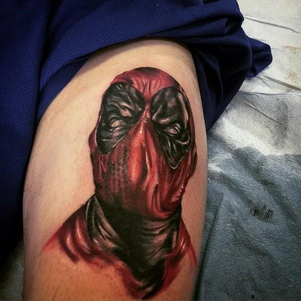 Tatuagens de Deadpool 16