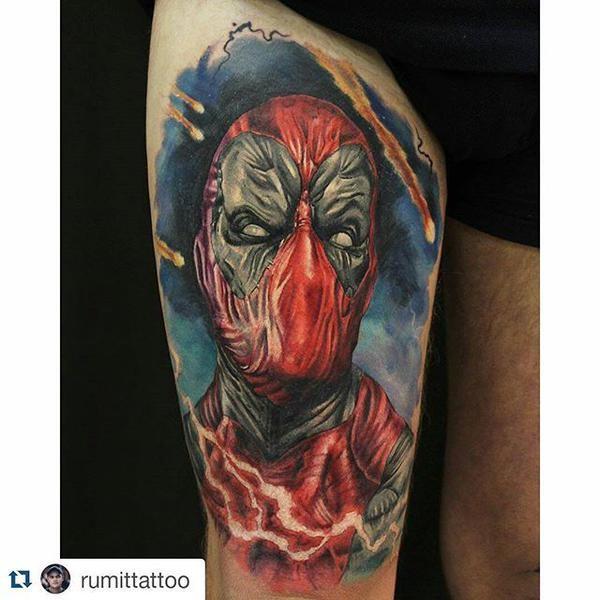 Tatuagens de Deadpool 17