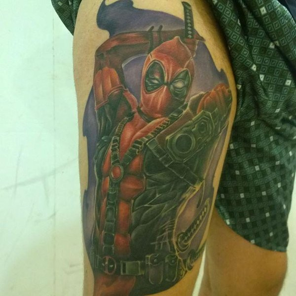 Tatuagens de Deadpool 18