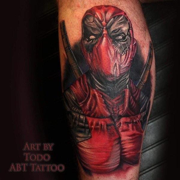 Tatuagens de Deadpool 19