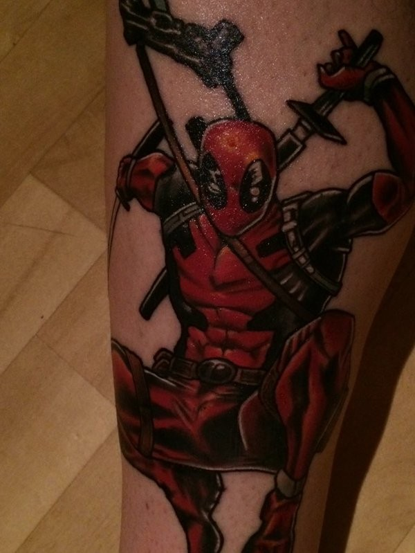 Tatuagens de Deadpool 22