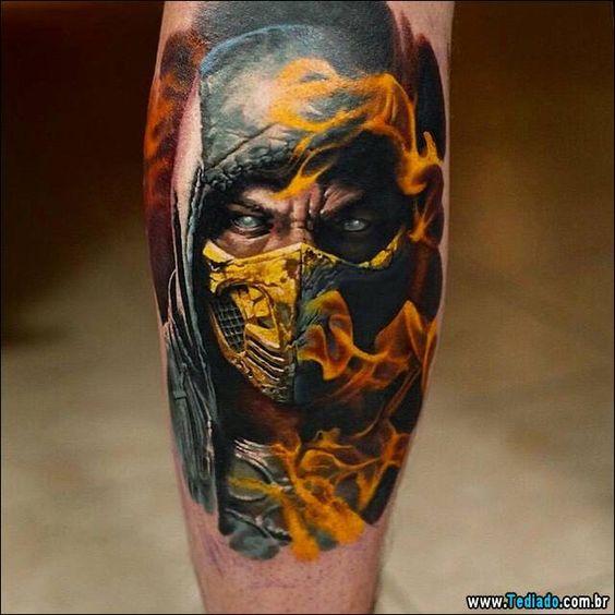 Tatuagens de Mortal Kombat 02