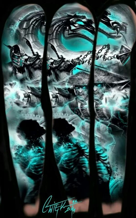 Tatuagens de Mortal Kombat 09