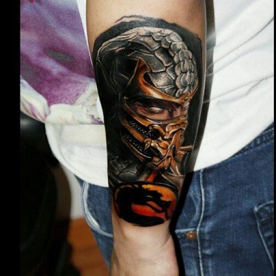 Tatuagens de Mortal Kombat 15