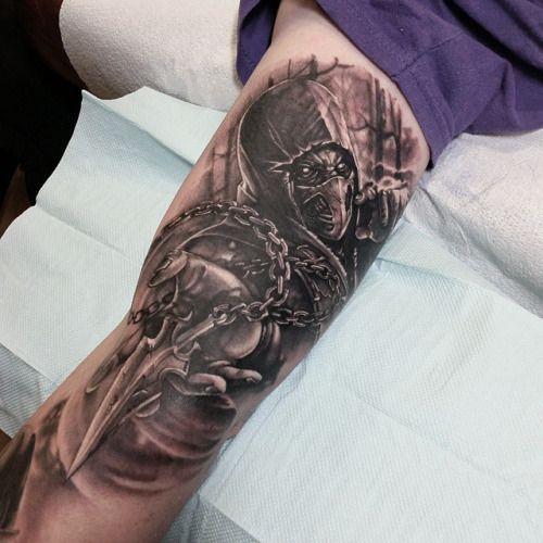 Tatuagens de Mortal Kombat 17