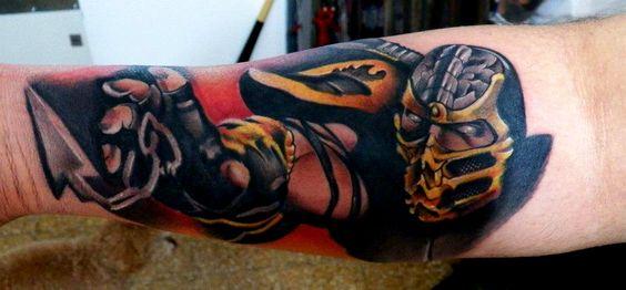 Tatuagens de Mortal Kombat 18