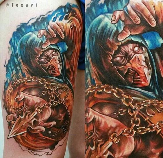 Tatuagens de Mortal Kombat 21