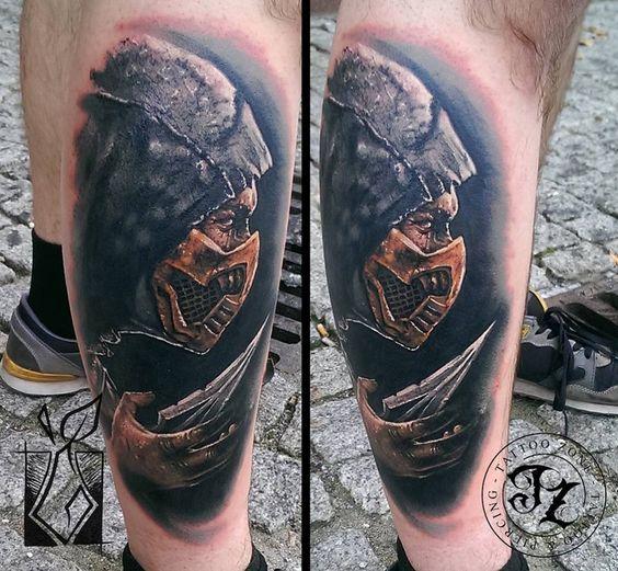 Tatuagens de Mortal Kombat 26