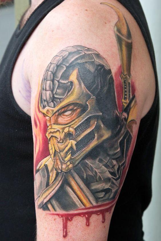 Tatuagens de Mortal Kombat 28