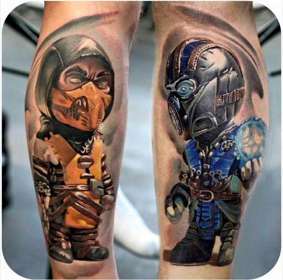 Tatuagens de Mortal Kombat 29