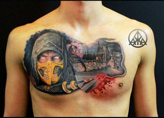 Tatuagens de Mortal Kombat 30