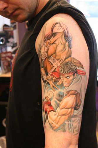 Tatuagens de Street Fighter 02
