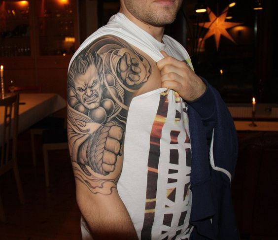Tatuagens de Street Fighter 04