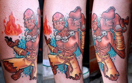Tatuagens de Street Fighter 05