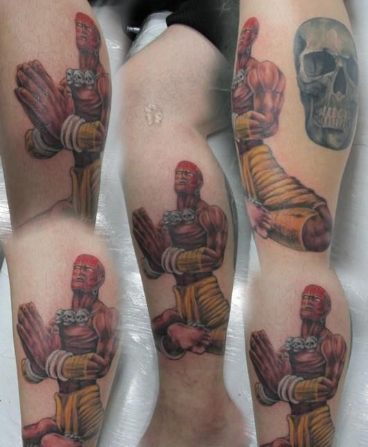Tatuagens de Street Fighter 06