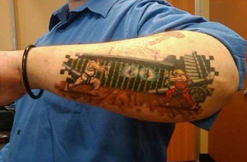 Tatuagens de Street Fighter 08