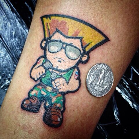 Tatuagens de Street Fighter 09