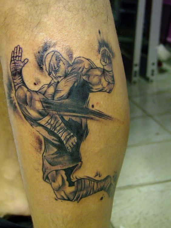 Tatuagens de Street Fighter 10