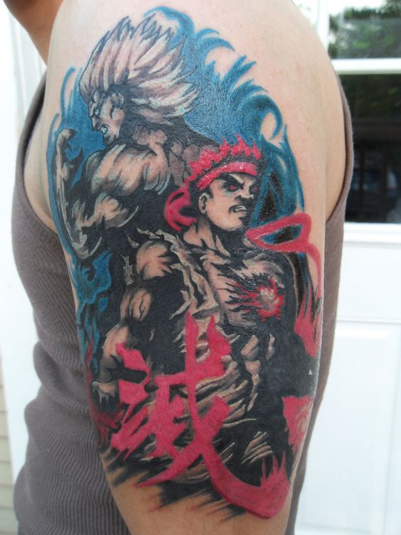 Tatuagens de Street Fighter 11