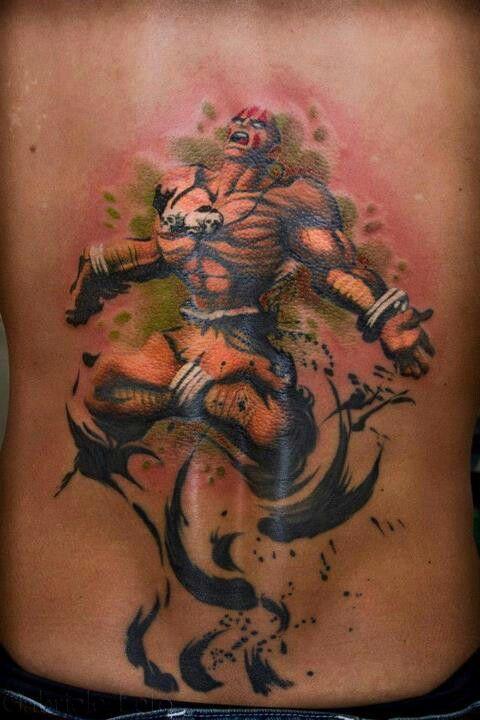 Tatuagens de Street Fighter 13