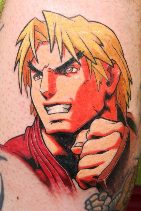 Tatuagens de Street Fighter 16