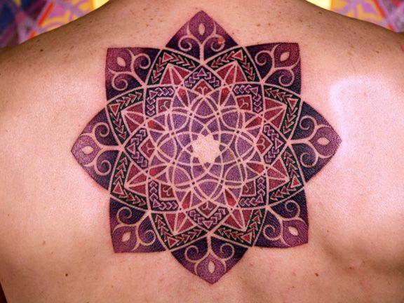 Tatuagens de mandalas 12