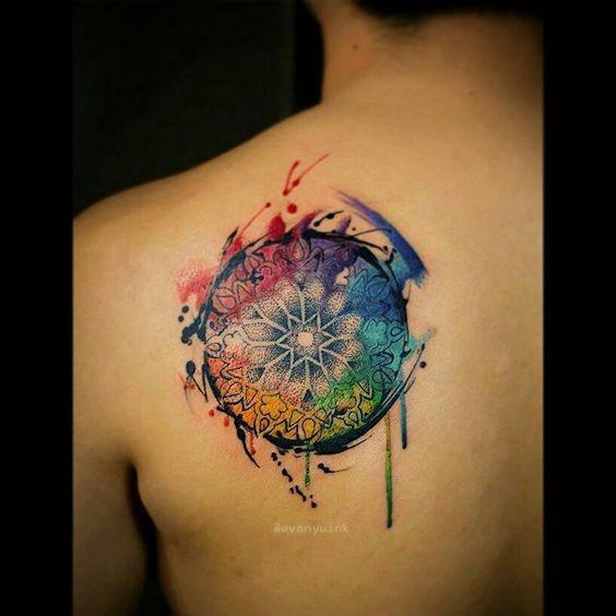 Tatuagens de mandalas 17